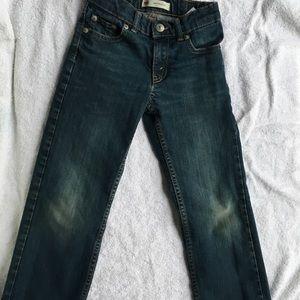 Boys Levi Slim Cut Jeans